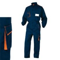 TUTA da LAVORO M6COM blu/arancio Tg. XL PANOSTYLE M6COMBMXG