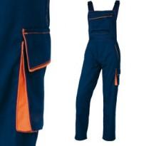 SALOPETTE da LAVORO M6SAL blu/arancio Tg. L PANOSTYLE M6SALBMGT