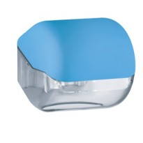 Dispenser carta igienica rt/interfogliata azzurro Soft Touch A61900AZ