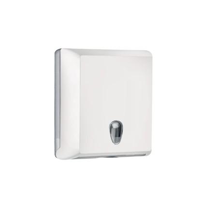 Dispenser asciugamani piegati C/Z bianco Soft Touch A70610EBI