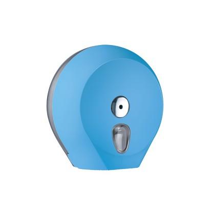 Dispenser carta igienica Midi Jumbo 23cm azzurro Soft Touch A75610AZ