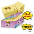 VALUE PACK 21+3 BLOCCO 90fg Post-it 47.6x47.6mm 29825