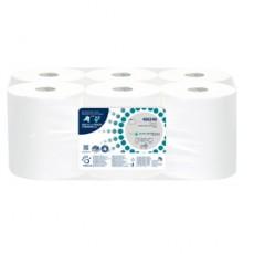 Rotolo asciugamani Autocut Microgoffrato 2veli 18,5cm DissolveTech Papernet 416598 - Conf da 6 pz.