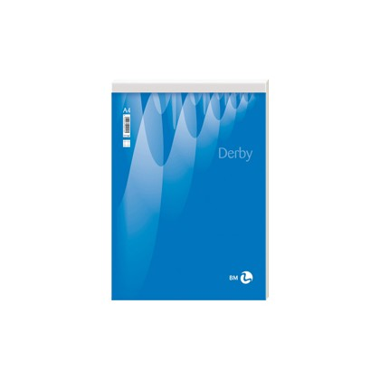 BLOCCO NOTE DERBY 80x120mm 70fg 60gr PM 5mm BM 0100010 - Conf da 10 pz.