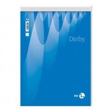 BLOCCO NOTE DERBY 210x297mm 70fg 60gr PM bianco BM 0100024 - Conf da 10 pz.
