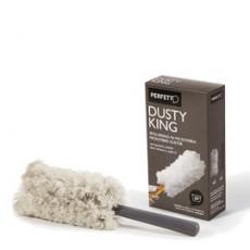 SPOLVERINO Microfibra + 3 RICAMBI Dusty King PERFETTO 0065E