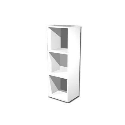 LIBRERIA 3 CASELLE 35,9x29,2cm-H103,9cm BIANCO - RAINBOW 3MaxC/3