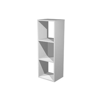LIBRERIA 3 CASELLE 35,9x29,2cm-H103,9cm GRIGIO ALLUMINIO - RAINBOW 3MaxC/5