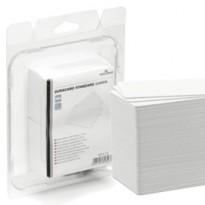 100 TESSERE BIANCHE 0,76mm x Duracard ID300 DURABLE 8915-02