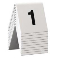 SET da 1 a 10 NUMERI PER I TAVOLI Securit TN-1-10