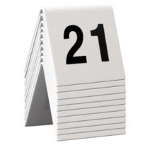 SET da 21 a 30 NUMERI PER I TAVOLI Securit TN-21-30