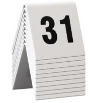 SET da 31 a 40 NUMERI PER I TAVOLI Securit TN-31-40