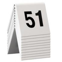SET da 51 a 60 NUMERI PER I TAVOLI Securit TN-51-60