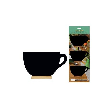 SET 3 MINI LAVAGNE SEGNAPOSTO Silhouette  Securit FBT-CUP-3