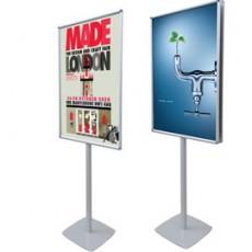 CORNICE A SCATTO AUTOPORTANTE 70X100 BIFACCIALE Info Pole Design 110727