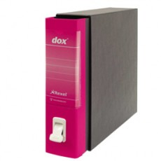 Registratore Dox 2 fucsia dorso 8cm f.to protocollo Esselte D26200