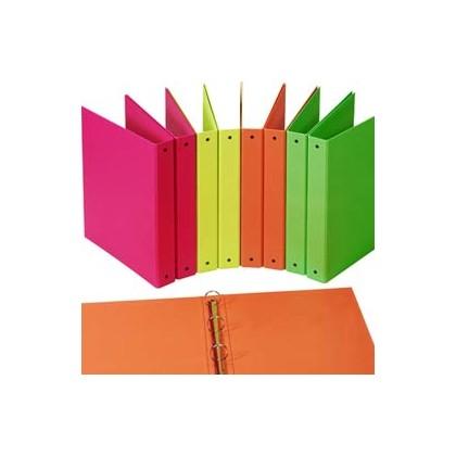 Raccoglitore Europa 4010 22x30mm 4R dorso 30 arancio neon Favorit 400052715