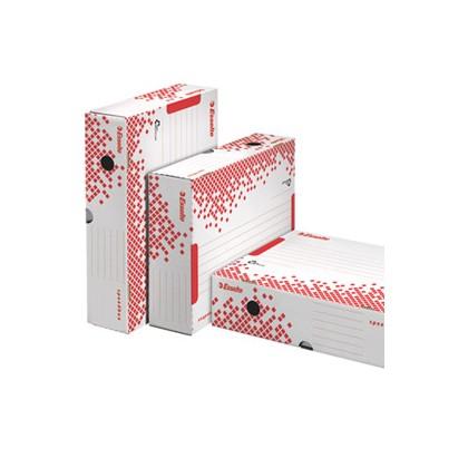 Scatola archivio SPEEDBOX dorso 80mm 35x25x8cm ESSELTE 623985 - Conf da 25 pz.