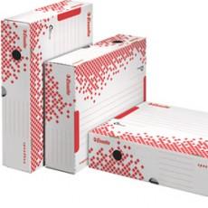 Scatola archivio SPEEDBOX dorso 80mm 35x25x8cm apertura totale ESSELTE 623910 - Conf da 25 pz.