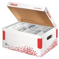 Scatola container SPEEDBOX MEDIUM 325x367x263mm ESSELTE 623912 - Conf da 15 pz.
