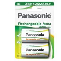BLISTER 2 torce ricaricabili READY TO USE D PANASONIC C307020