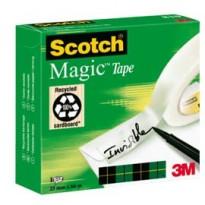 NASTRO ADESIVO Scotch 810-2566 25mmX66mt INVISIBILE PERMANENTE 56065