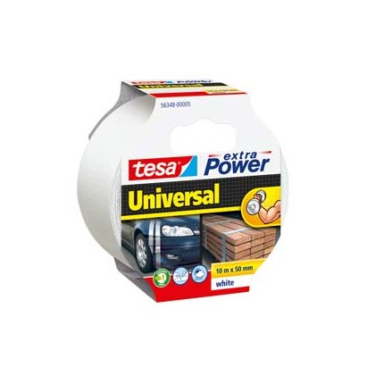 NASTRO ADESIVO 10mtx50mm BIANCO tesa Extra Power Universal 56348-00005-05
