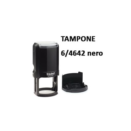 BLISTER 2 TAMPONCINO 6/4642 NERO TRODAT 65873.