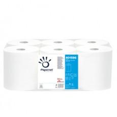 Asciugamani in rotolo MAXI 19,3cm - 137mt Centrefeed Papernet 401596 - Conf da 6 pz.