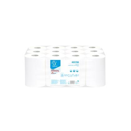 Asciugamani in rotolo MINI 14,5cm - 69mt Centrefeed Papernet 405788 - Conf da 12 pz.