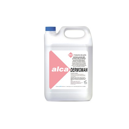 SAPONE LIQUIDO 5Lt per sporco medio DERMOMAN Alca ALC578
