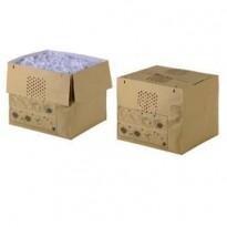 50 Sacchi carta riciclabili per distruggidocumenti 80lt (Auto+ 500X/M) - Rexel 2105902