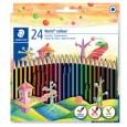 Astuccio 24 matite Noris Colour in Wopex colori assortiti STAEDTLER 185C24