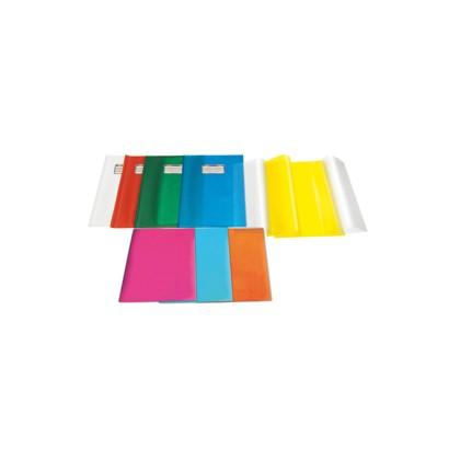 Coprimaxi PVC goffrato trasparente Emysilk c/alette 21x30cm giallo RiPlast 31715565 - Conf da 25 pz.