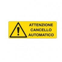 CARTELLO ALLUMINIO 35x12,5cm E1708K