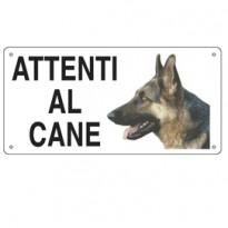 CARTELLO ALLUMINIO 25x12,5cm 8505