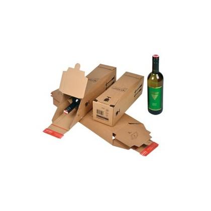 SCATOLA SPEDIZIONE 74x74x305mm MODULO BASE X 1 BOTTIGLIA CP 181.101 - Conf da 10 pz.