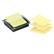 DISPENSER 90foglietti Post-it Super Sticky 101x101mm righe DS440-SSCYL GIALLO C 4663