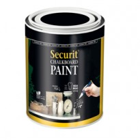 PITTURA LAVAGNA NERO 250ml (5mq) Securit PNT-BL-SM