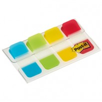 Dispenser 40 SEGNAPAGINA Post-it INDEX STRONG Mini 676 CLASSICI 15,8X38mm 5152