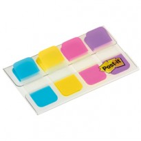 Dispenser 40 SEGNAPAGINA Post-it INDEX STRONG Mini 676 VIVACI 15,8X38mm 5156