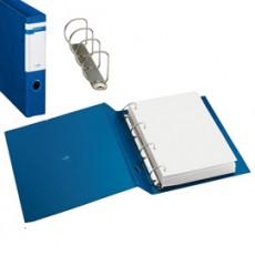 Raccoglitore STELVIO F 40 A4 4D blu 22x30cm SEI ROTA 37404407