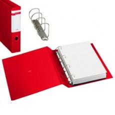 Raccoglitore STELVIO F 40 A4 4D rosso 22x30cm SEI ROTA 37404412