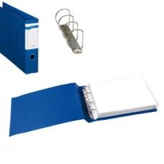 Raccoglitore STELVIO F A4 40 4D blu 30x22cm Album SEI ROTA 37404507