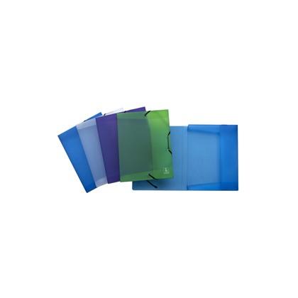 CARTELLA PROGETTI C/ELASTICO 24X32x2,5cm MIX 4 COLORI 2ndLife Favorit 400067714 - Conf da 4 pz.