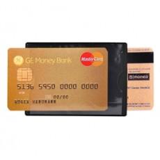 HIDENTITY Duo 85x60mm per bancomat /carta di credito NERO Exacompta 5401E - Conf da 10 pz.