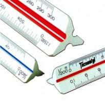Scalimetro 98U 30cm (Scale 11-2-5-20-50-100-200-500-1000-1250-2500) Tecnostyl 98/U