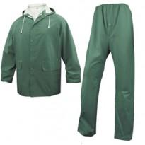 COMPLETO IMPERMEABILE EN304 Tg. M verde (giacca+pantalone) EN304VETM2