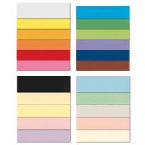 Conf.10 cartoncino Bristol Color 200gr 100x70cm bianco 01 FAVINI A3500A1