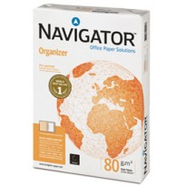 CARTA NAVIGATOR organizer 2 Fori A4 80gr 500FG 210X297mm NMP00800210029709 - Conf da 5 pz.